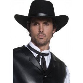 Autentisk Gunslinger Hat