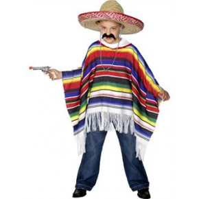 Fastelavn, Mexicaner poncho