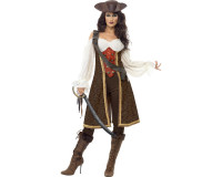 Komplet Pirate Wench kostume